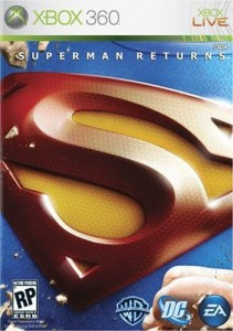 Superman Returns X360 Box Art
